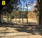 バーベキュー場紹介 緑地公園駅からバーベキュー会場までの道案内8