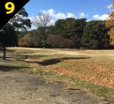 バーベキュー場紹介 緑地公園駅からバーベキュー会場までの道案内9