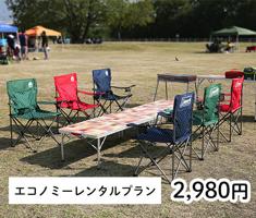 大阪西中島のバーベキューレンタル店アップグリルの各種プラン_エコノミーレンタルプラン