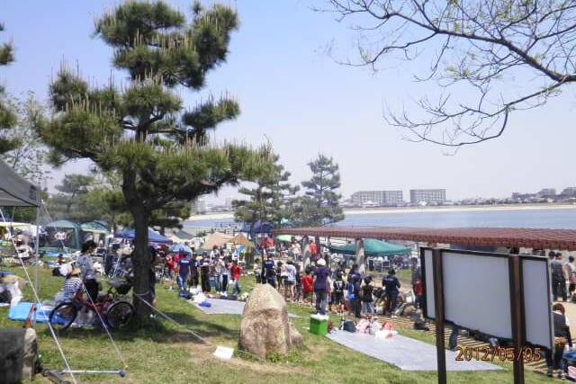 甲子園浜海浜公園 沖地区メイン画像