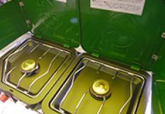 コールマン ガスコンロ(緑)