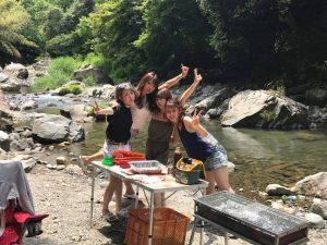 川辺で涼しくバーベキュープラン