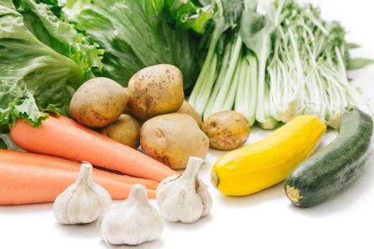 新鮮な野菜の外観