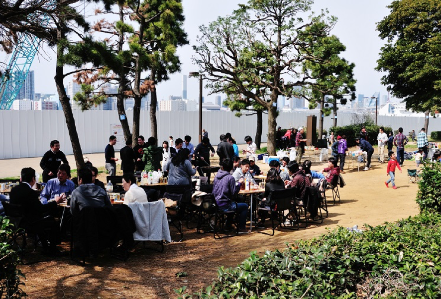 都立潮風公園バーベキュー広場