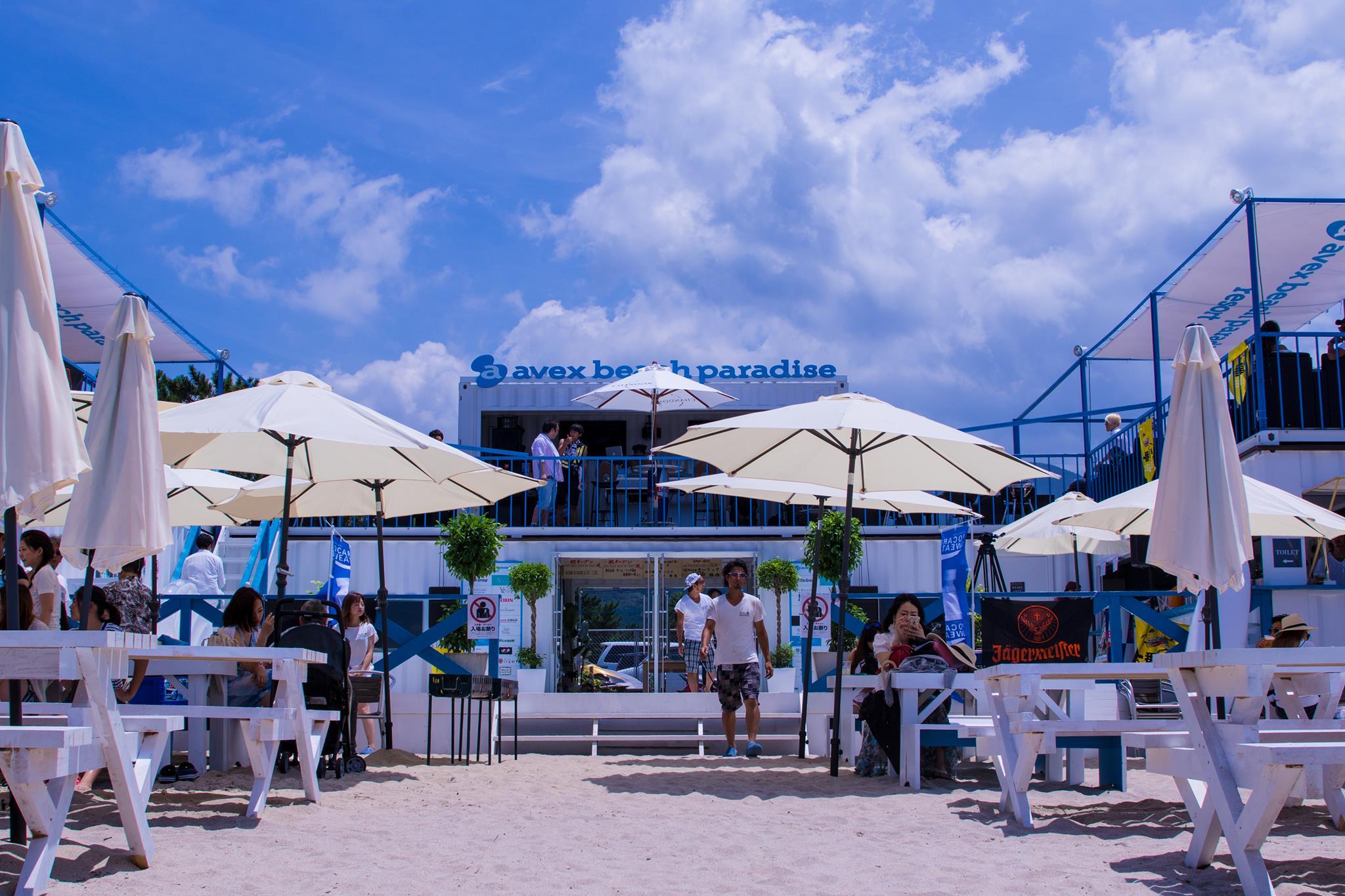 avex beach paradise FUKUOKA