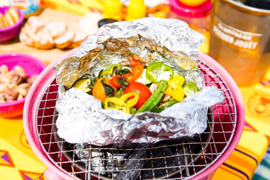 夏野菜のホイル焼き