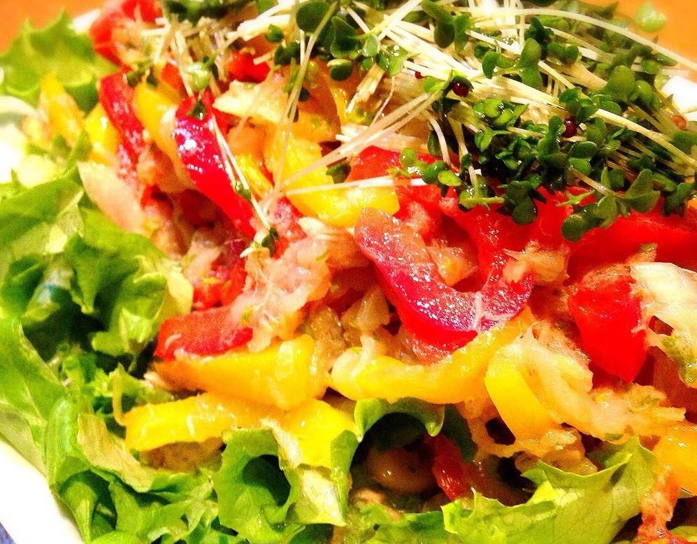 パプリカのサラダ