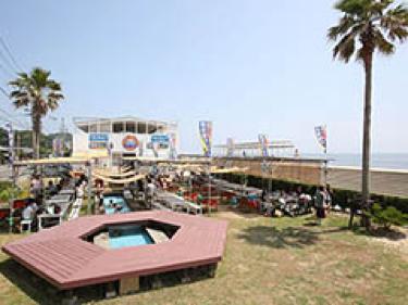 BEACH CAFETERIA Hi-Blue