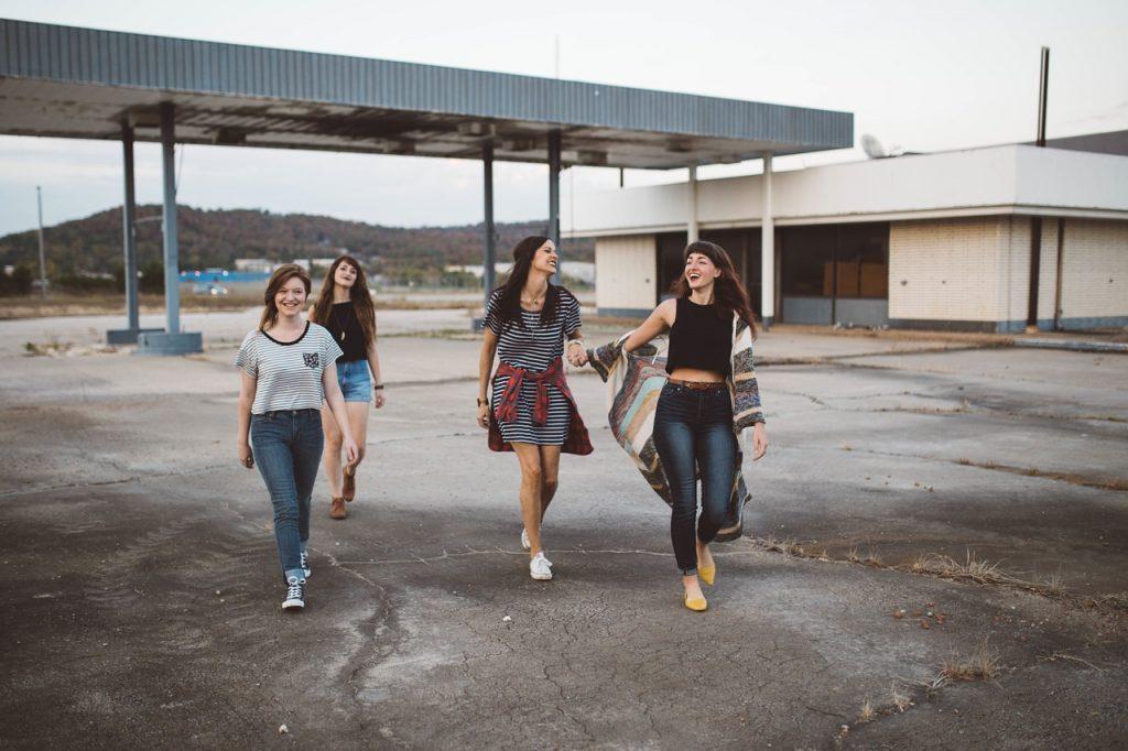 十代の女性の服装