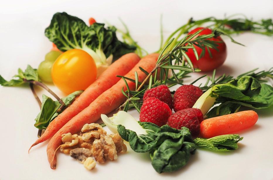 新鮮な野菜てんこ盛り