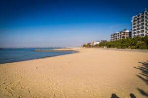 林崎松江海岸 ビーチ