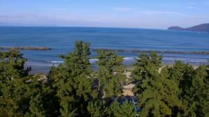 神崎海水浴場 浜