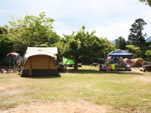 かぶと山公園 キャンプサイト