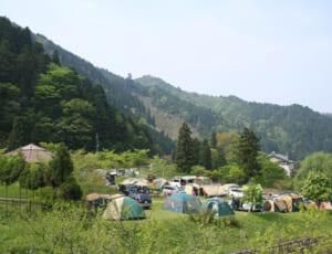 美山自然文化村 河鹿荘 キャンプサイト