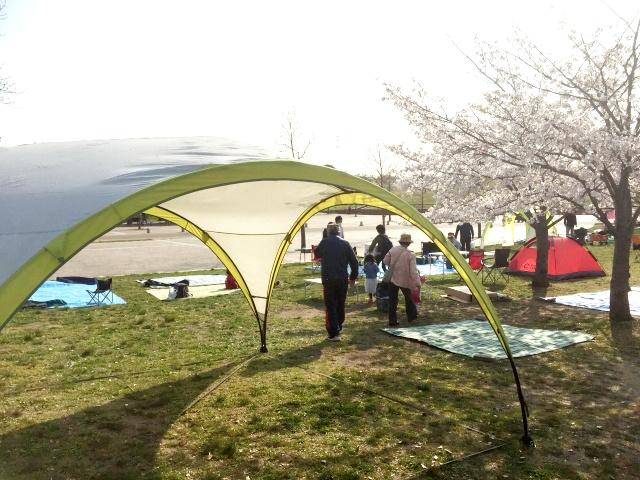山田池公園 BBQエリア