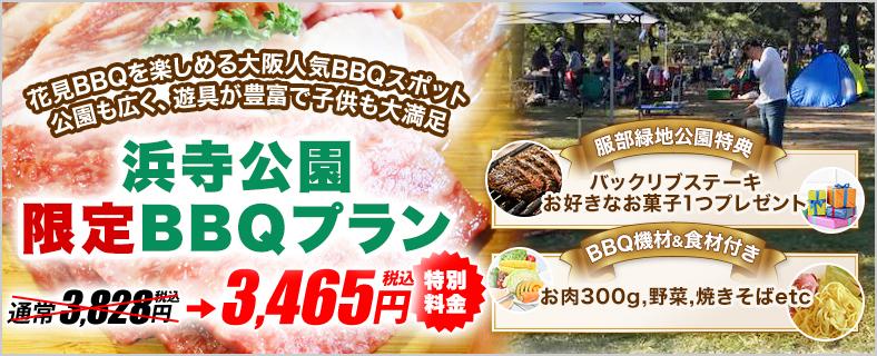 浜寺公園BBQ広場【2021年更新】の限定レンタルプラン1SP